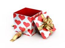 Open gift royalty free illustration