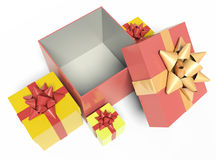 Open gift Royalty Free Stock Photos
