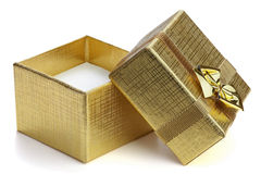 Open Gift Box. Stock Photo