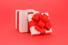 Open gift box Royalty Free Stock Photos