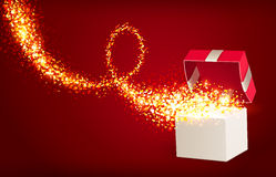 Free Open Gift Box Royalty Free Stock Images - 28727479