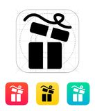 Open gift box icons on white background. Stock Images