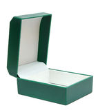 Open gift box on white background Royalty Free Stock Image