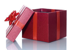 Open Giftdoos Stock Afbeelding