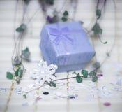 Open giftdoos Stock Fotografie