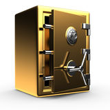 Open gold safe Royalty Free Stock Photography