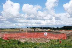 Open Gravel Pit Royalty Free Stock Photos