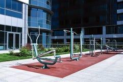 Open gym royalty free stock photo