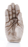 Open hand statue Royalty Free Stock Image