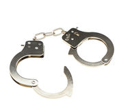 Open handcuffs Royalty Free Stock Photography