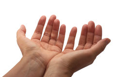 Open Hands royalty free stock photography