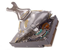 Open hard disk Royalty Free Stock Images