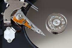 Open hard disk Stock Photo