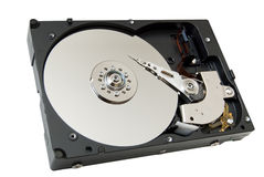Open hard disk drive Stock Images