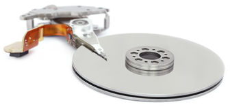Open hard disk drive Royalty Free Stock Image