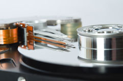 Open Hard Disk Mechanism Stock Photos