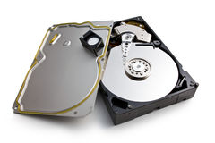 Open hard disk Stock Photography