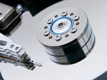 Open hard drive Stock Photography