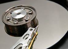 Open hard drive Stock Photo