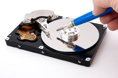 Open hard-drive Royalty Free Stock Images