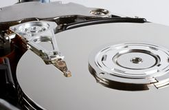 Open hard drive Royalty Free Stock Image