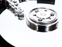 Open hard drive Royalty Free Stock Photography