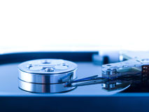 Open hard drive disk Royalty Free Stock Photo