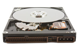 Open hard drive unit Royalty Free Stock Photo