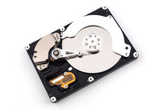 Open hard drive Stock Image