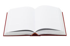 Open Hardcover Book Stock Image