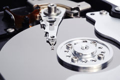 Open Harddisk close up Royalty Free Stock Images
