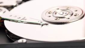 Open harddisk isolated Stock Photos