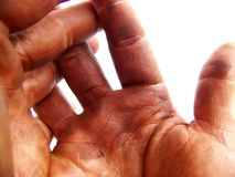 Open Hardworking Hands Stock Photos