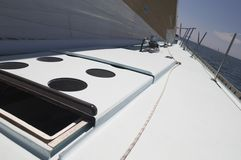 Open Hatch on Yacht Royalty Free Stock Photos