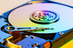 Open hdd device Royalty Free Stock Image