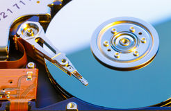 Open HDD disk Royalty Free Stock Images
