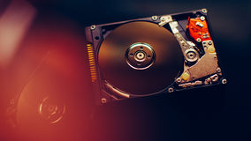 Open hdd (hard, disk) from computer Stock Images