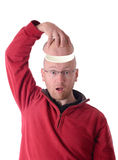 Open head Royalty Free Stock Photography