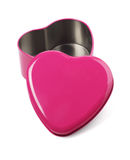 Open Heart Shaped Container Royalty Free Stock Image