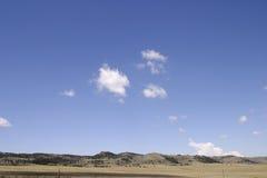 Open Hemel in Colorado Stock Foto