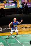 Open het Badmintonkampioenschap 2014 van Maleisië Stock Fotografie