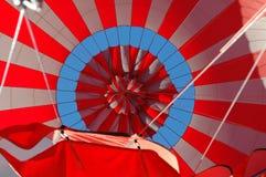 Open Hete luchtballon Stock Foto's