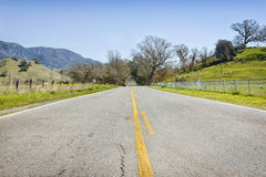 Open Highway Royalty Free Stock Photo