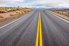 Open highway in California Royalty Free Stock Photo
