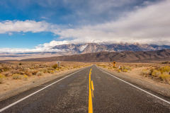 Open highway in California Royalty Free Stock Photos