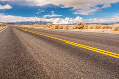 Open highway in California Royalty Free Stock Photography