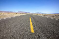 Open Highway Landscape Royalty Free Stock Photo