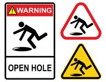 Open hole Royalty Free Stock Image