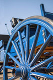 Open horse buggy,wagon,wheel Stock Images