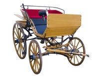 Open horse-drawn carriage front Stock Photos